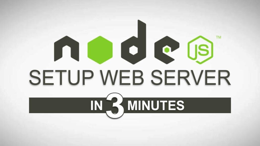 How to setup your NodeJS local server in 3 minutes  ― Scotch io