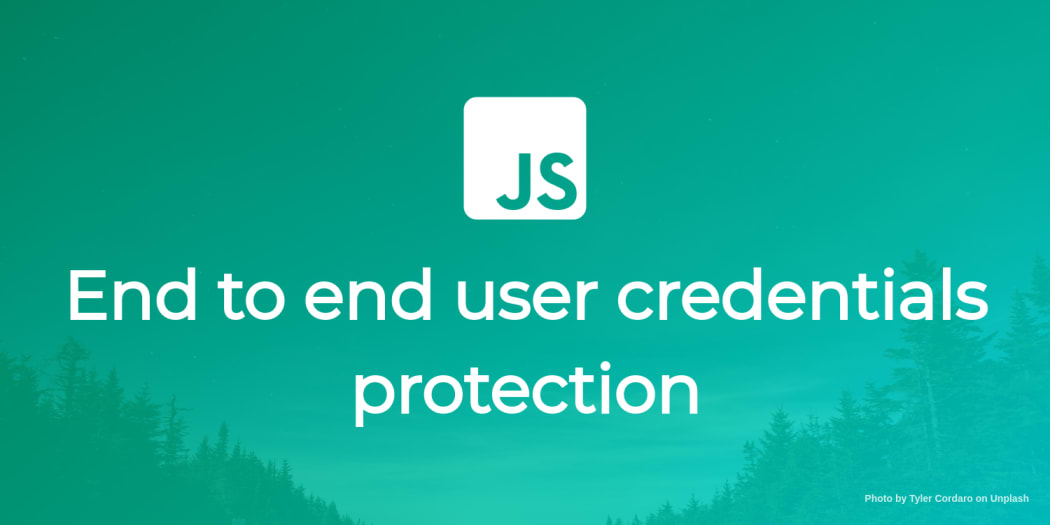 End to end user credentials protection