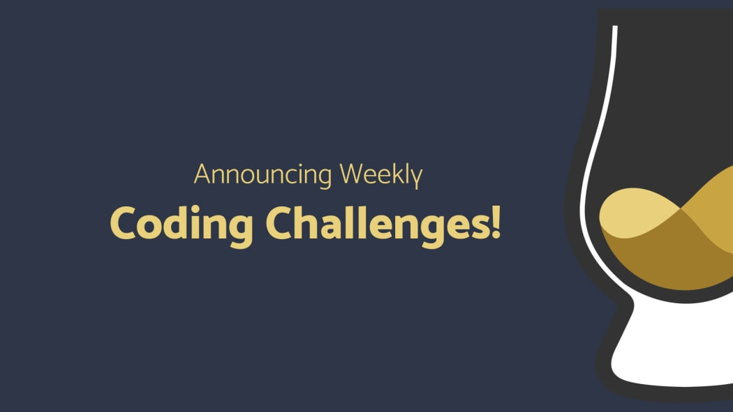 Announcing Scotch io Coding Challenges! Weekly Code Tests and Twitch