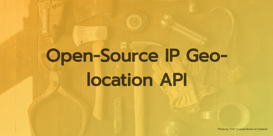 Open-Source IP Geo-location API
