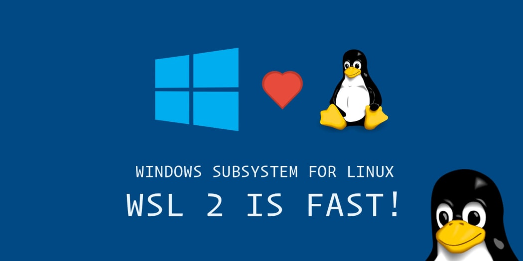 Trying the New WSL 2. It's Fast! (Windows Subsystem for Linux)