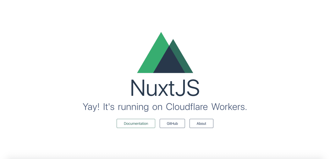Deploying a static NuxtJS site to Cloudflare Workers