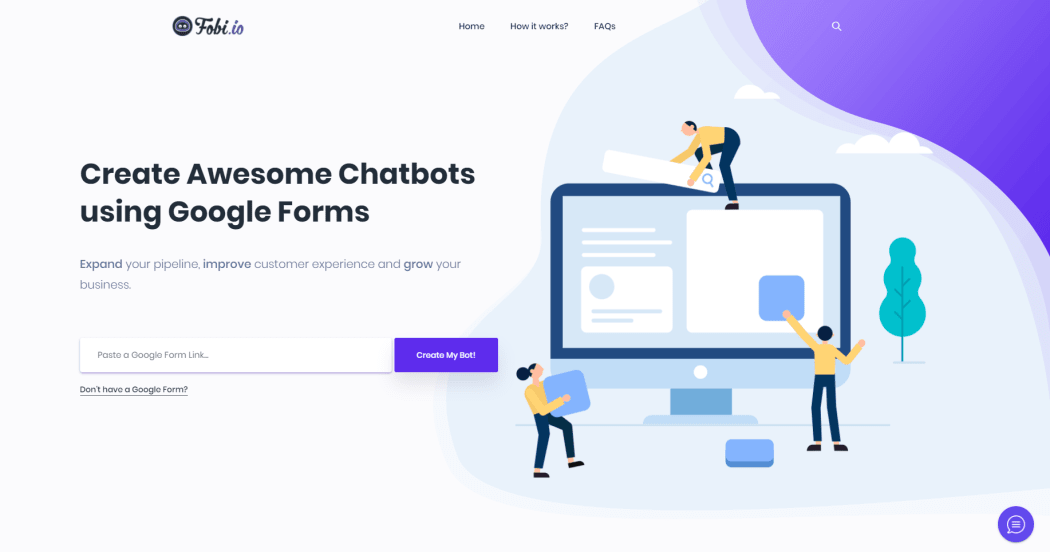 Turn your Google Form Into Awesome Chatbot