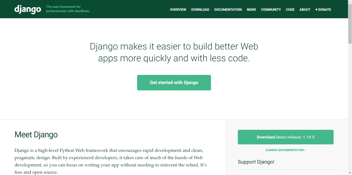 Build a REST API with Django – A Test Driven Approach: Part 1