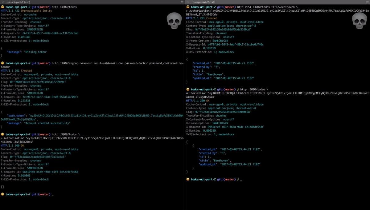 Build a RESTful JSON API With Rails 5 - Part Two ― Scotch io