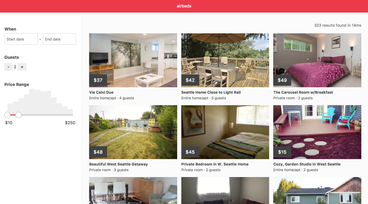 Build an Airbnb Clone with React and ElasticSearch ― Scotch io