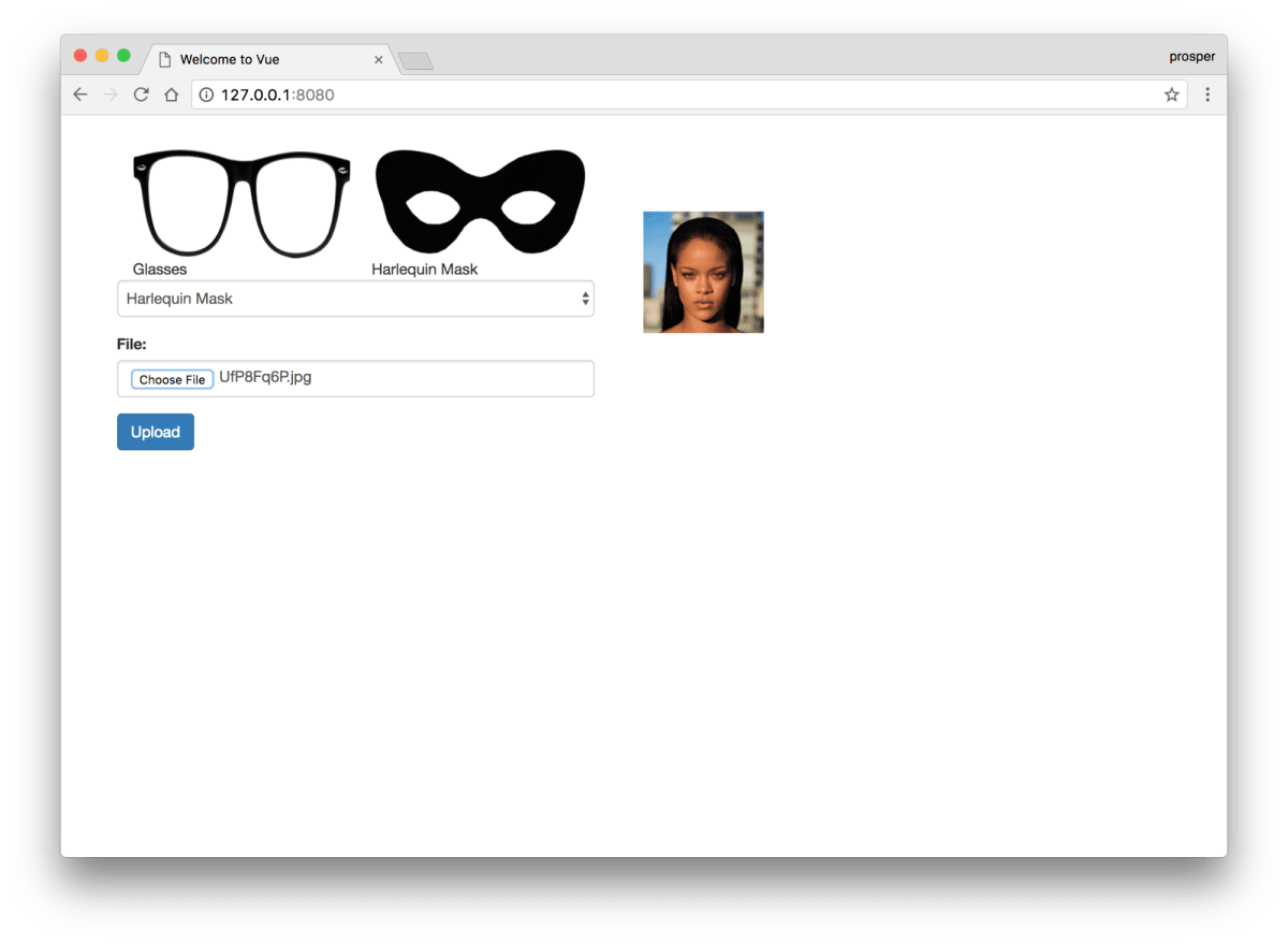 Overlay Glasses/Masks on Avatars with Vue js and Cloudinary ― Scotch io