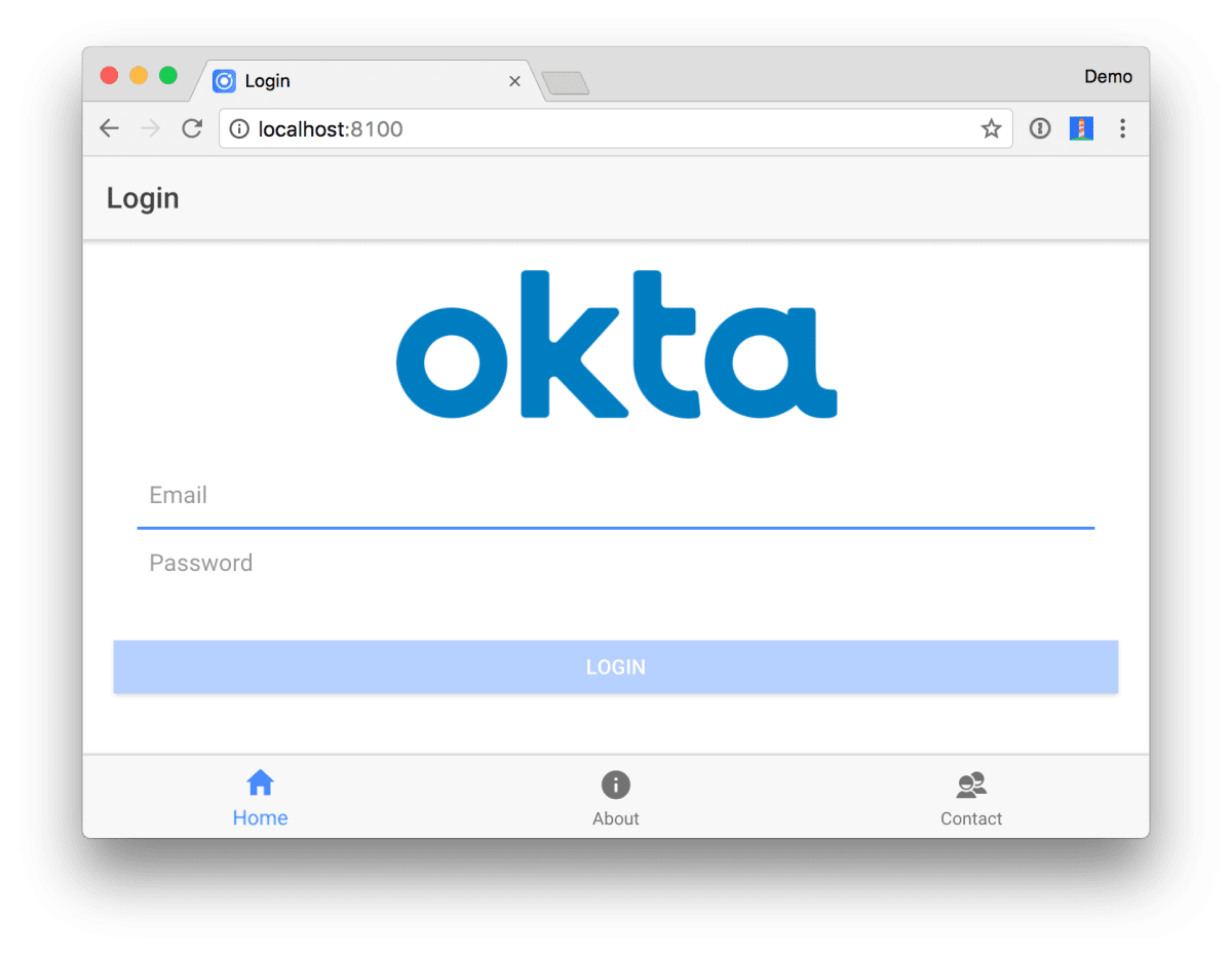 Build an Ionic App with User Authentication ― Scotch io