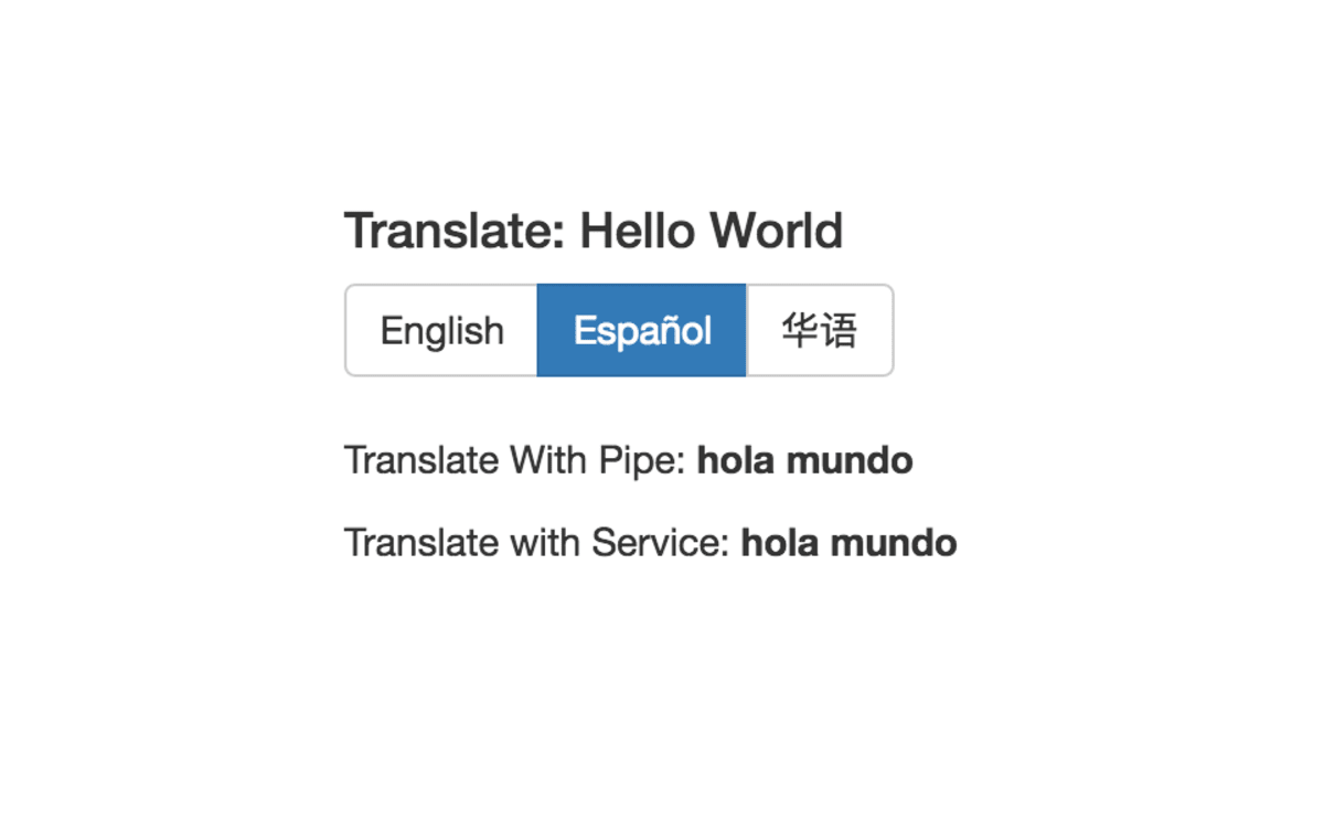 Simple Language Translation in Angular 2 (Part 1) ― Scotch io