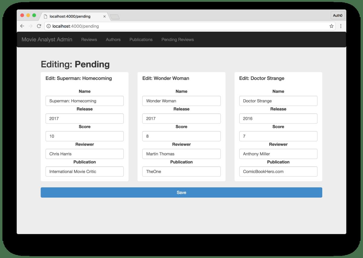 Building and Securing a Modern Backend API ― Scotch io