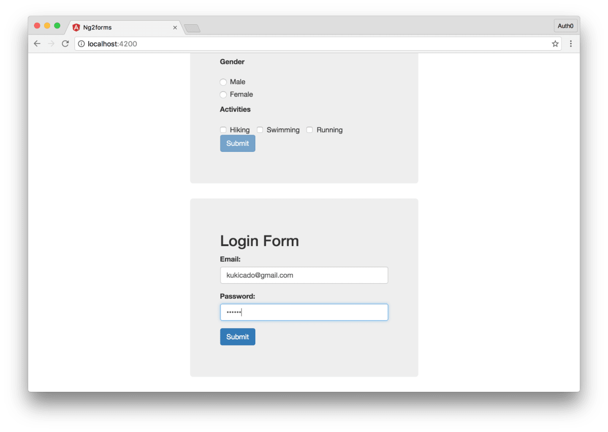 Angular 2 Form Validation ― Scotch io