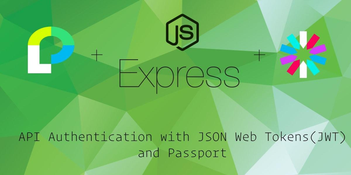 API Authentication with JSON Web Tokens and Passport ― Scotch io