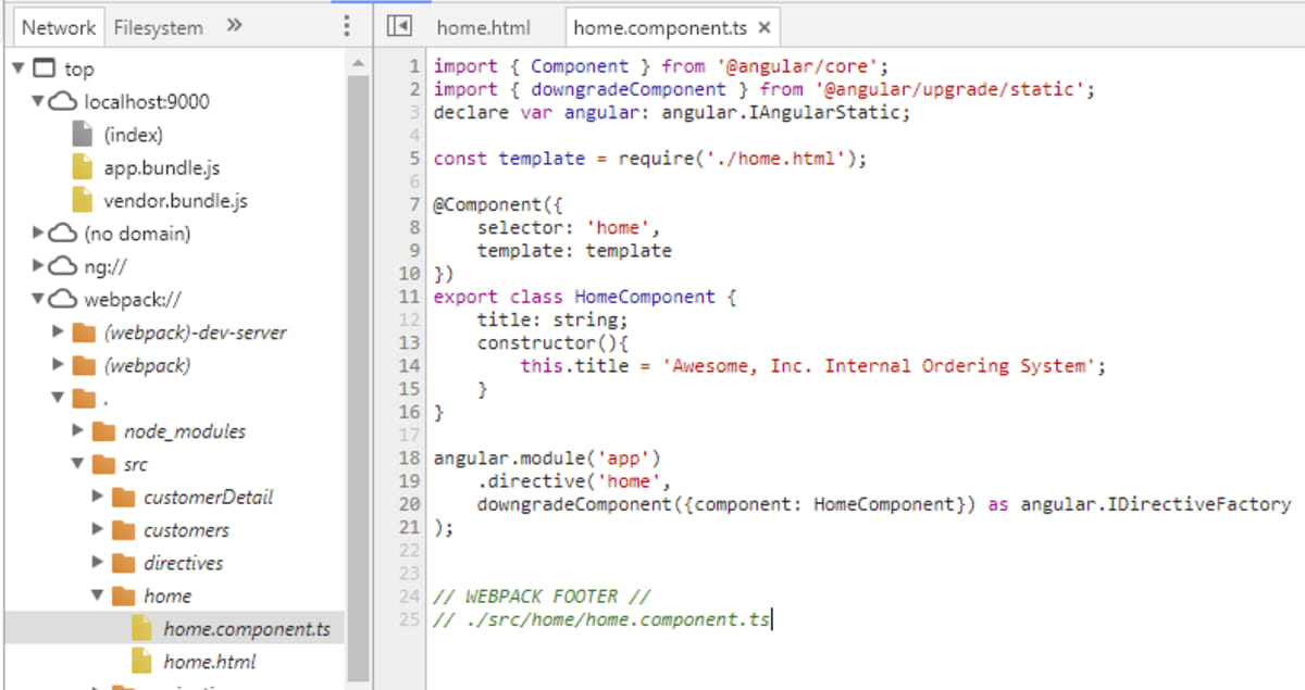 Get Started with ngUpgrade: Going from AngularJS to Angular ― Scotch io