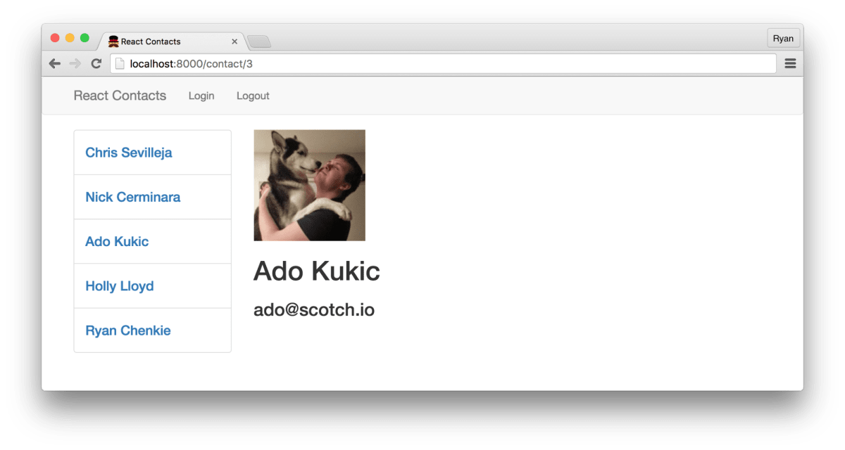 Build a React + Flux App with User Authentication ― Scotch io