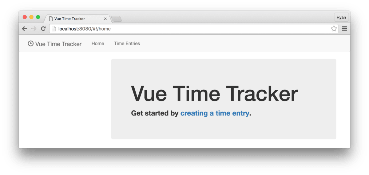 Build a Single Page Time Tracking App with Vue js, Part II ― Scotch io