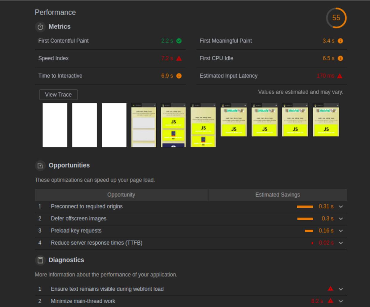 How to Use Chrome Dev Tools to Find Performance Bottlenecks ― Scotch io