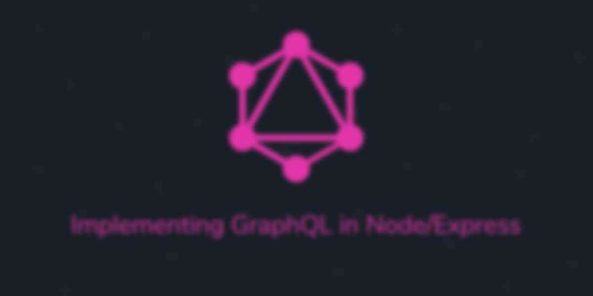 Implementing GraphQL Using Apollo On an Express Server