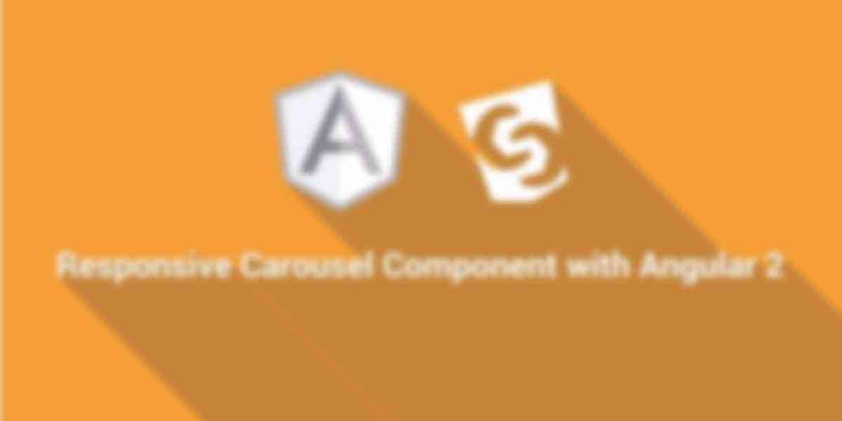 Responsive Carousel Component with Angular 2