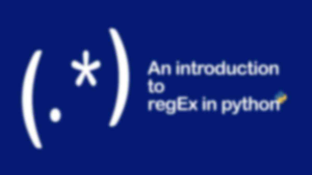 An Introduction to Regex in Python
