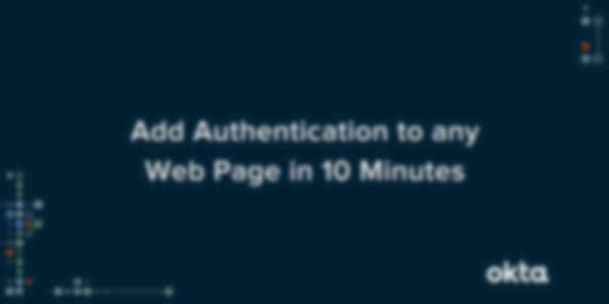 Add Authentication to Any Web Page in 10 Minutes