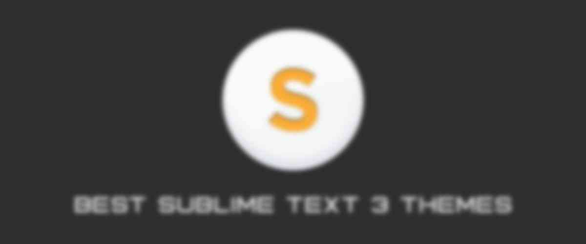 The 10 Best Sublime Text 3 Themes of 2017
