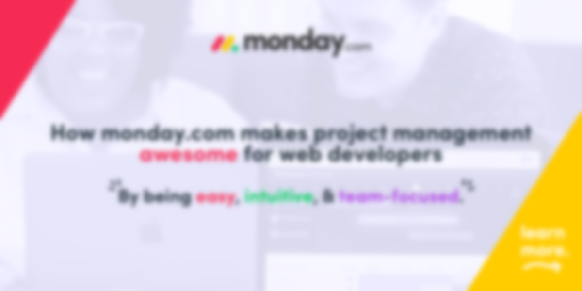 How monday.com makes project management AWESOME for web developers