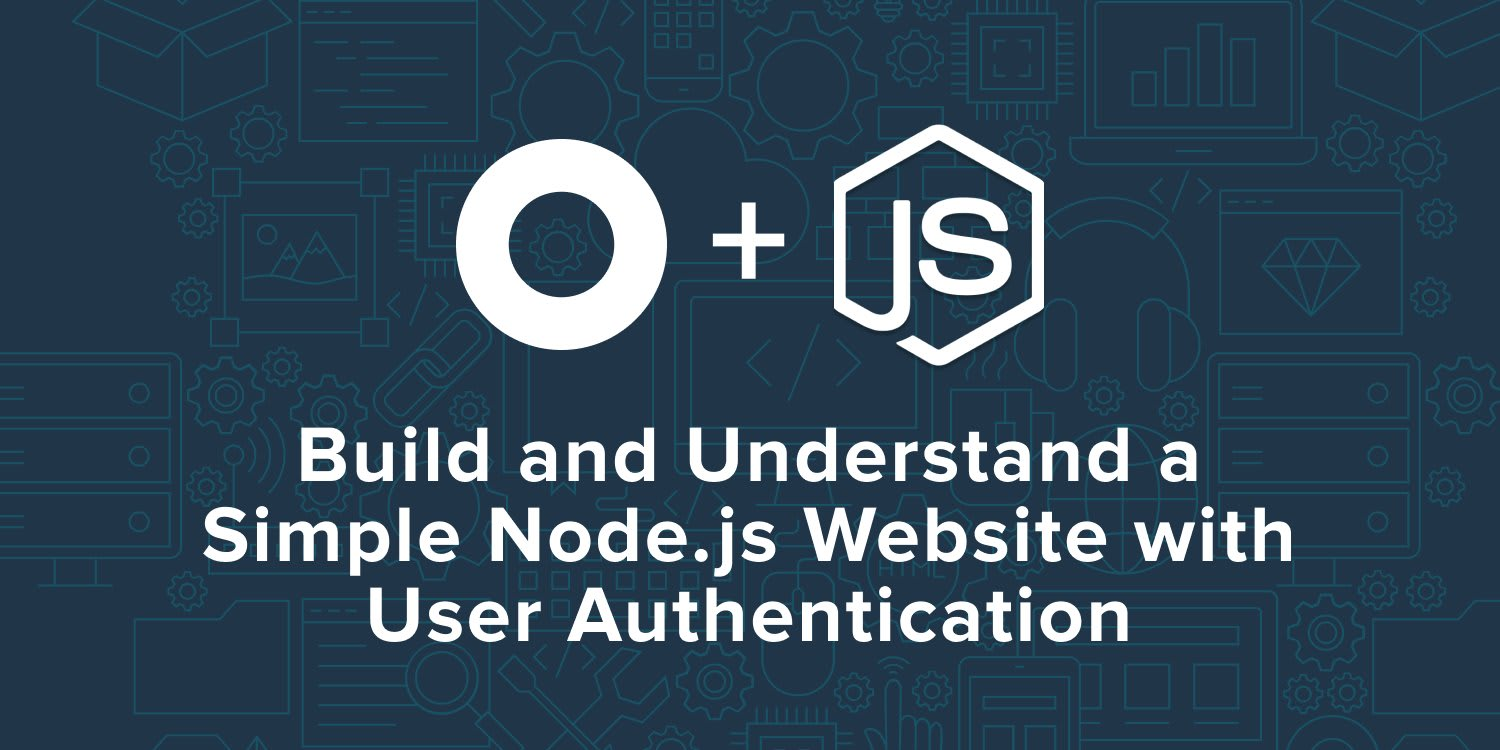 Build and Understand a Simple Node js Website with User
