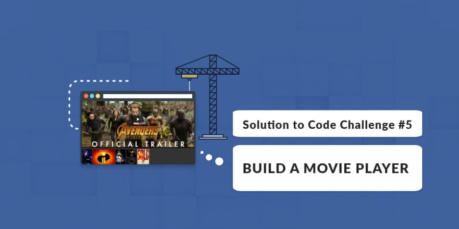 Build A Movie Player with Vue.js (Solution to Code Challenge #5)