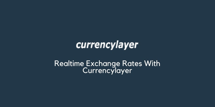 Realtime Exchange Rates With Currencylayer
