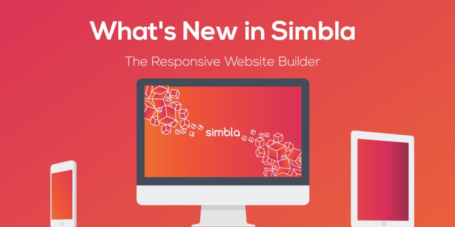 What's New in Simbla: The Responsive Website Builder