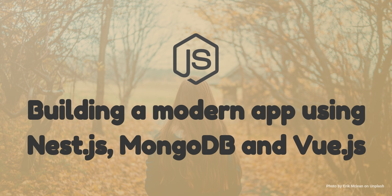 JSFeeds - Building a modern app using Nest js, MongoDB and