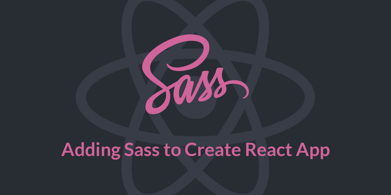 QnA VBage React Starter: Adding Sass to Create React App Applications